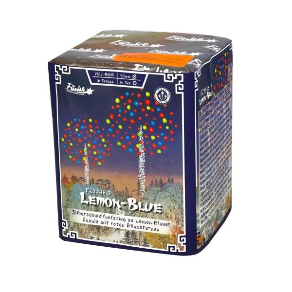 Lemon Blue FC20-16-3 Batteriefeuerwerk funke