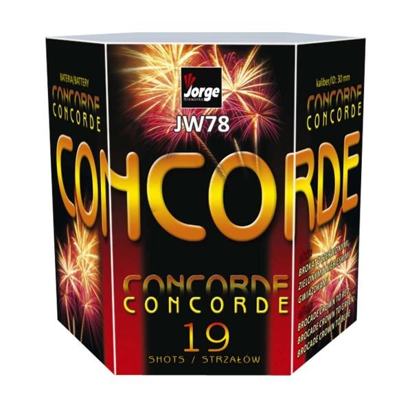 Concorde Batteriefeuerwerk Jorge Feuerwerk