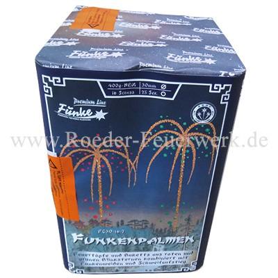 Funkenpalmen FC30-16-7 Batteriefeuerwerk funke