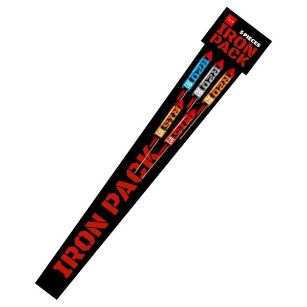 Iron Pack Raketensortiment (R15 und R20) Raketen und Sortimente Raketensortimente GAOO