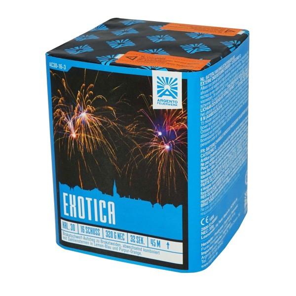 Exotica Batteriefeuerwerk von Argento Feuerwerk online kaufen