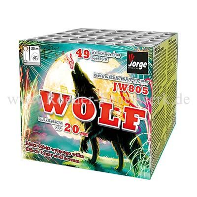 JW805 Wolf Batteriefeuerwerk Jorge Feuerwerk
