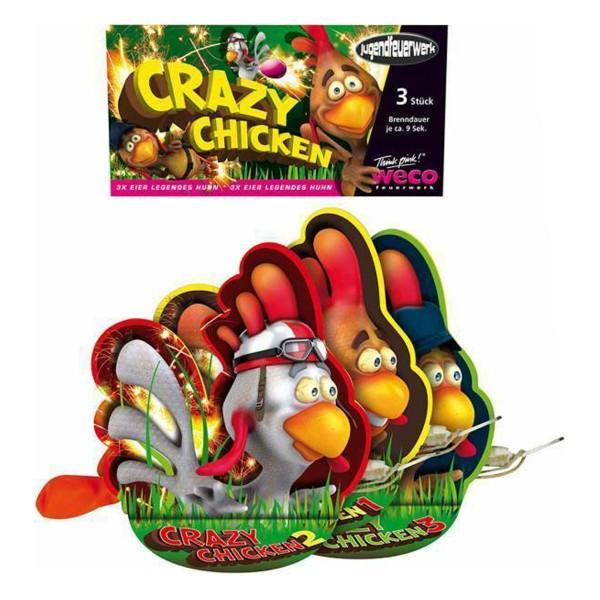 Crazy Chicken Jugendfeuerwerk Jugendfeuerwerk Weco Feuerwerk