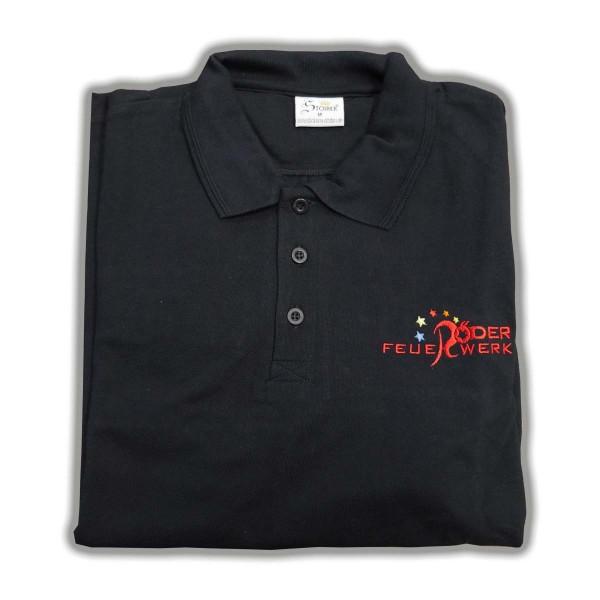 Polo-Shirt Röder Feuerwerk Merchandising Werbemittel Röder Feuerwerk