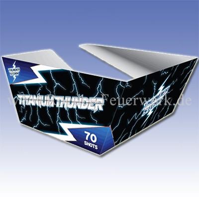 Titanium Thunder 2er- Kiste Batteriefeuerwerk evolution Feuerwerk