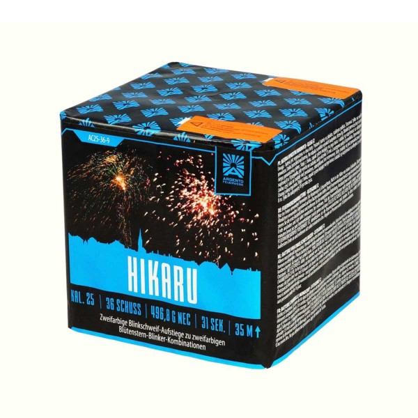 Hikaru Silvesterfeuerwerk von Argento Feuerwerk