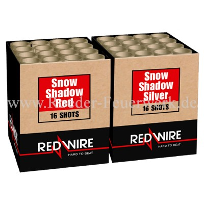 Snow Shadow 2er- Kiste Batteriefeuerwerk Lesli Feuerwerk