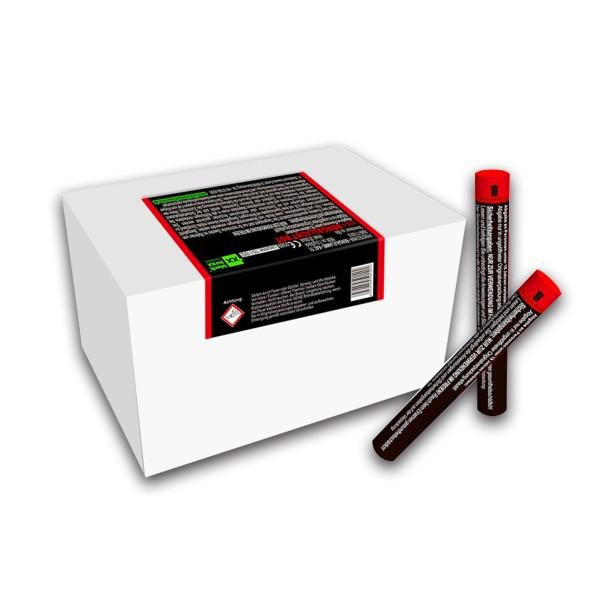 Figurenlicht raucharm rot Bühnenfeuerwerk Figurenlichter Blackboxx Fireworks