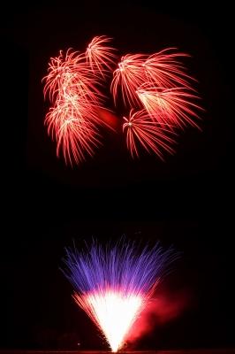 musiksynchrones Feuerwerk zum Volksfest, ein Erlebnis der Sonderklasse