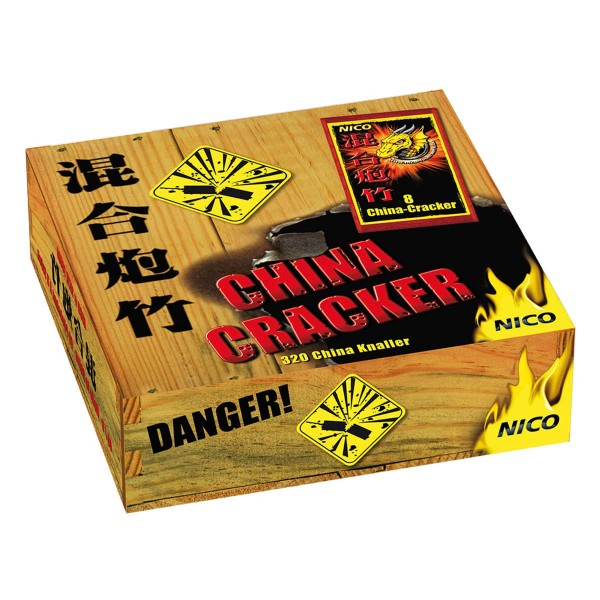 China Knaller Umkarton Knallartikel Chinaware Nico Feuerwerk