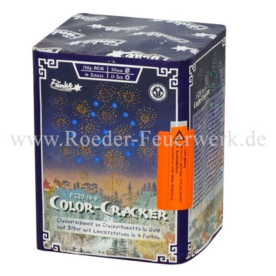 Color Cracker FC20-16-6 Batteriefeuerwerk funke