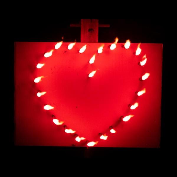Feuerschrift Herz Feuerschrift Feuerschrift Sets Divers