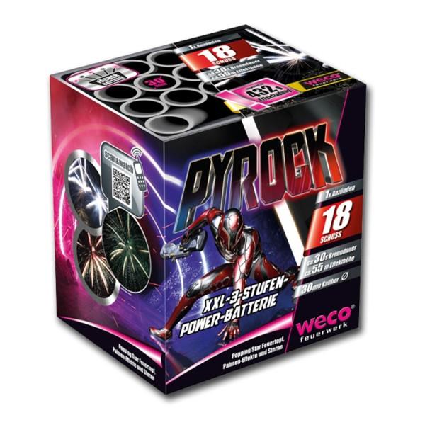 Weco Pyrock Feuerwerksbatterie günstig kaufen