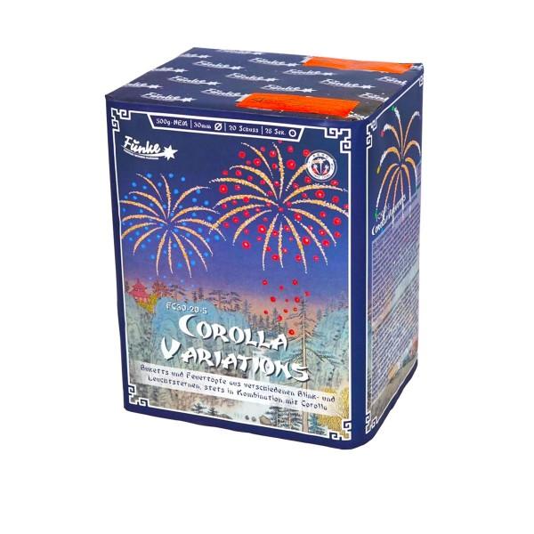 Corolla Variations FC30-20-5 Batteriefeuerwerk funke
