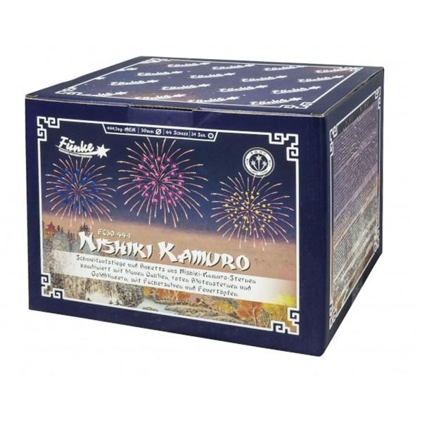 Verbundfeuerwerk Nishiki Kamuro von Funke Feuerwerk