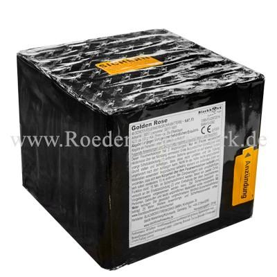 Golden Rose Kategorie F3 Batteriefeuerwerk Blackboxx Fireworks