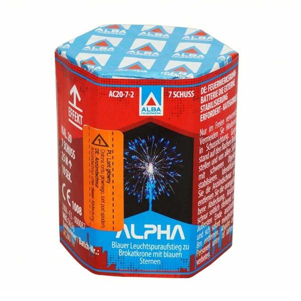 Silvesterfeuerwerk Alpha von ALBA Feuerwerk