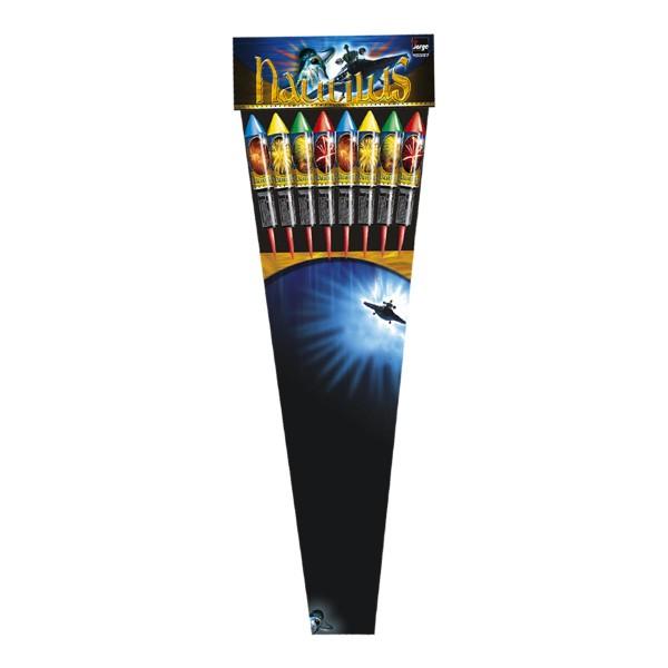 Nautilus Raketensortiment Raketen und Sortimente Raketensortimente Jorge Feuerwerk
