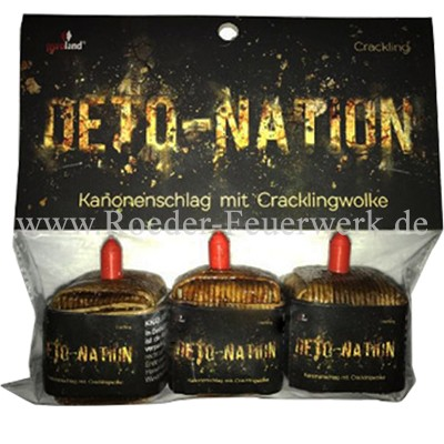 Deto-Nation Knallartikel Kanonenschläge Bothmer Pyrotechnik