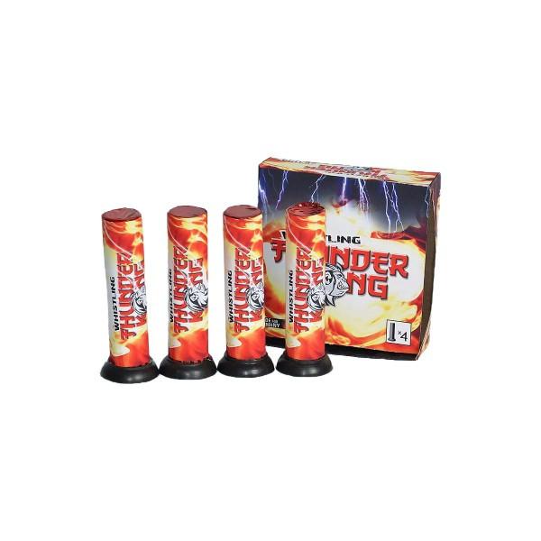 Whisteling Thunder Kong 18er- Kiste Einzelschuss Bombenrohre Lesli Feuerwerk