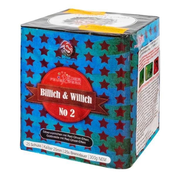 Röder Feuerwerkskörper Billich und Willich Nr. 2