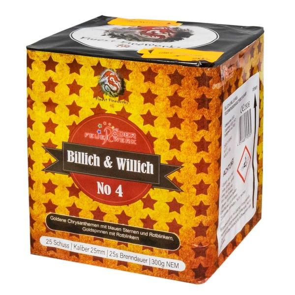 Billich und Willich Nr. 4 von Röder Feuerwerk zum Schnäppchenpreis