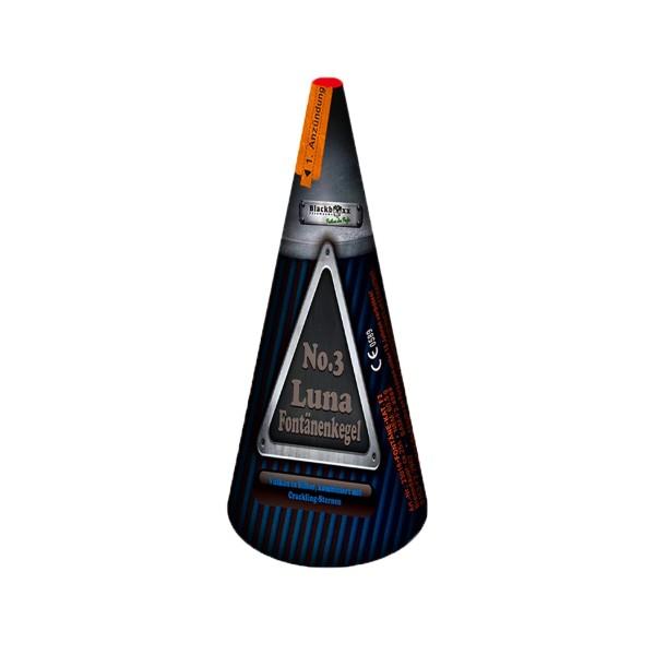 Luna Fontänenkegel No. 3 Leuchtfeuerwerk Vulkane Blackboxx Fireworks
