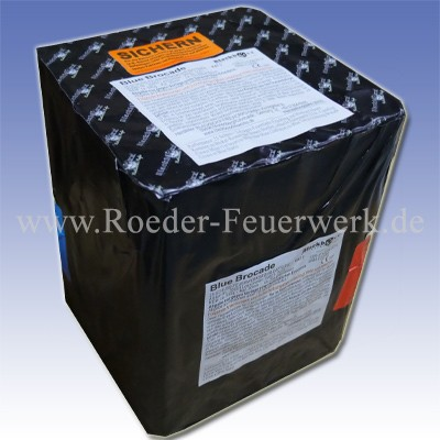 Blue Brocade Kategorie F3 Batteriefeuerwerk Blackboxx Fireworks
