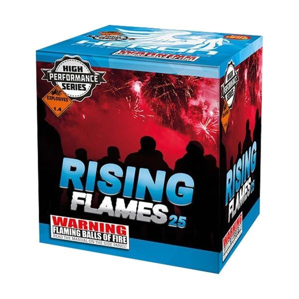 Rising Flames Batteriefeuerwerk Heron Feuerwerk