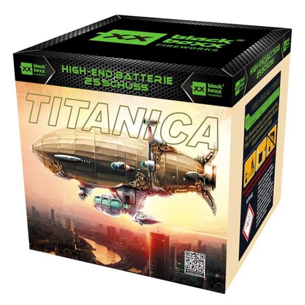 Titanica Batteriefeuerwerk Blackboxx Fireworks