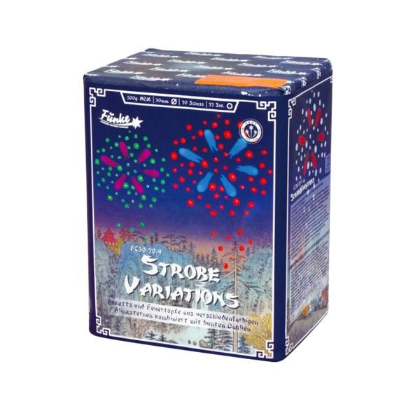 Strobe Variations FC30-20-9 Batteriefeuerwerk funke