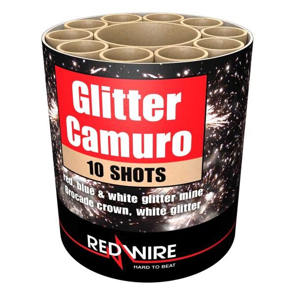 Feuerwerksbatterie Glitter Camuro von Lesli Silvesterzauber