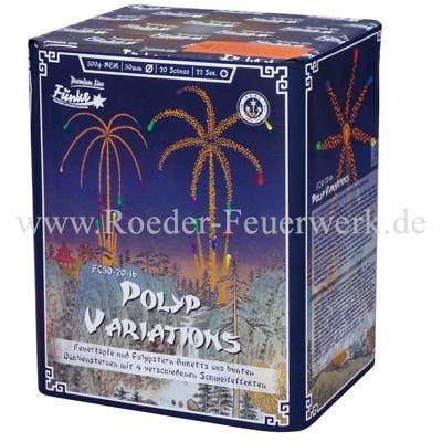 Polyp Variations FC30-20-16 Batteriefeuerwerk funke