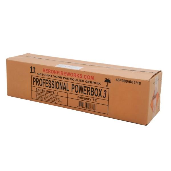 Professional Powerbox 3 Verbundfeuerwerk Heron Feuerwerk