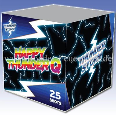 Happy Thunder Q 4er- Kiste Batteriefeuerwerk evolution Feuerwerk