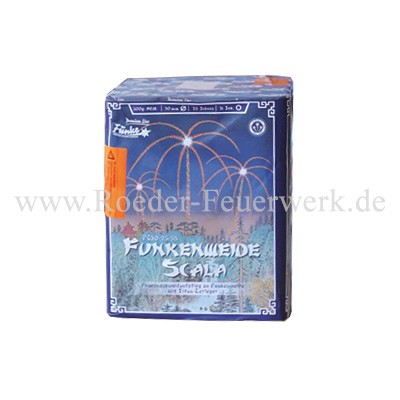 Funkenweide Scala FC30-25-35 Batteriefeuerwerk funke