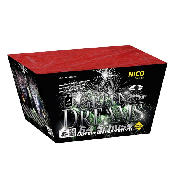 Green Dreams/ Northern Lights Batteriefeuerwerk nico Feuerwerk