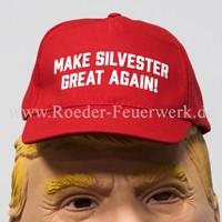 Cap Make Silvester Great Again Merchandising Werbemittel Röder Feuerwerk