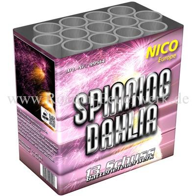 Spinning Dahlia Batteriefeuerwerk nico Feuerwerk