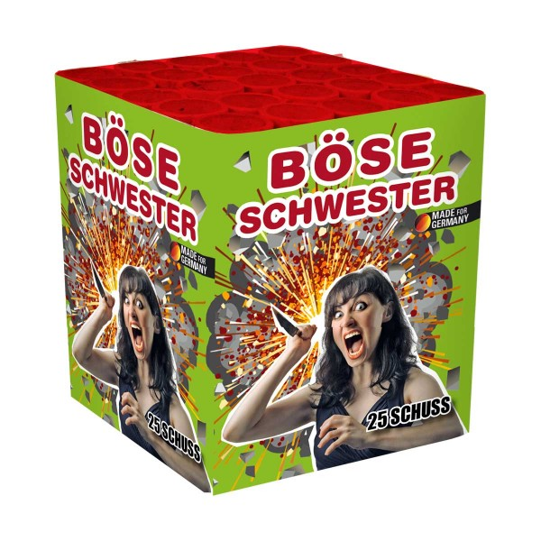 Böse Schwester Batteriefeuerwerk Lesli Feuerwerk