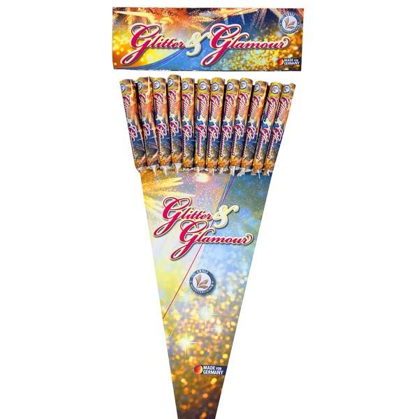Glitter and Glamour Raketen und Sortimente Raketensortimente Lesli Feuerwerk