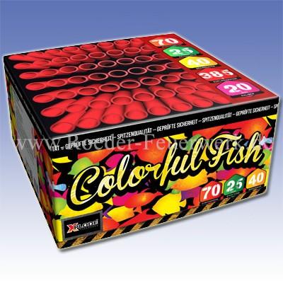 Colorful Fish Batteriefeuerwerk Xplode Feuerwerk