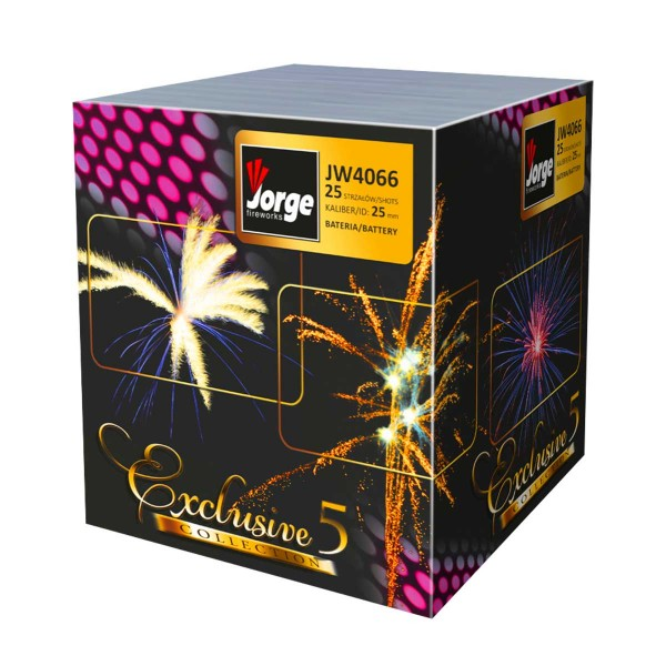 Exclusive Collection 5 (JW4066) Batteriefeuerwerk Jorge Feuerwerk