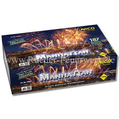Manhattan Verbundfeuerwerk Verbundfeuerwerk Nico Feuerwerk