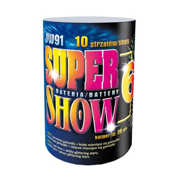 Supershow 6 Batteriefeuerwerk Jorge Feuerwerk