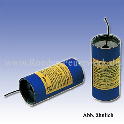 Weco Bengaltopf blau Bühnenfeuerwerk Bengalfeuer Weco Feuerwerk