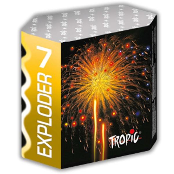 Exploder 7 Kategorie F3 Batteriefeuerwerk Tropic