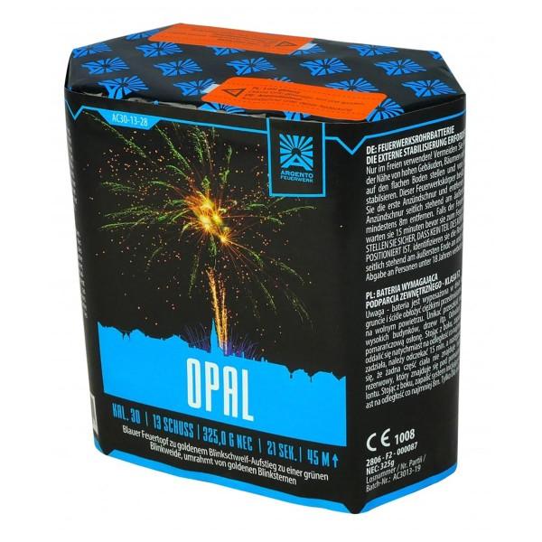 13 Schuss Feuerwerksbatterie Opal von Argento Feuerwerk