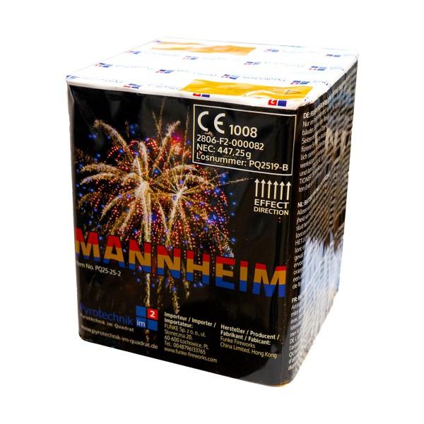Mannheim Feuerwerksbatterie von Pyrotechnik im Quadrat online kaufen