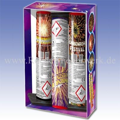 Bombenrohr Festival  Einzelschuss Bombenrohre Panda Feuerwerk